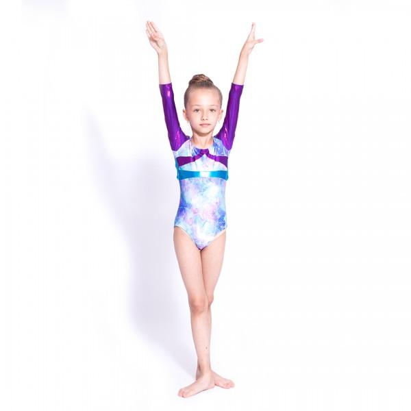 Capezio Gymnastics Arch Back, dres de gimnastică pentru copii