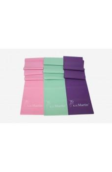 K.H. Martin stretching bands, bandă elastică roz MEDIUM