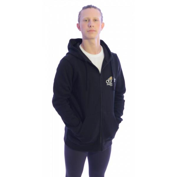 DanceMaster training hoodie pentru bărbați, hanorac cu fermoar