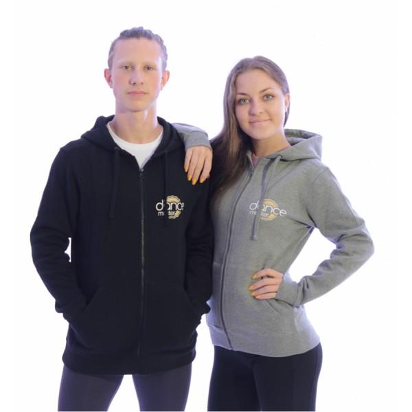 DanceMaster training hoodie, hanorac cu fermoar