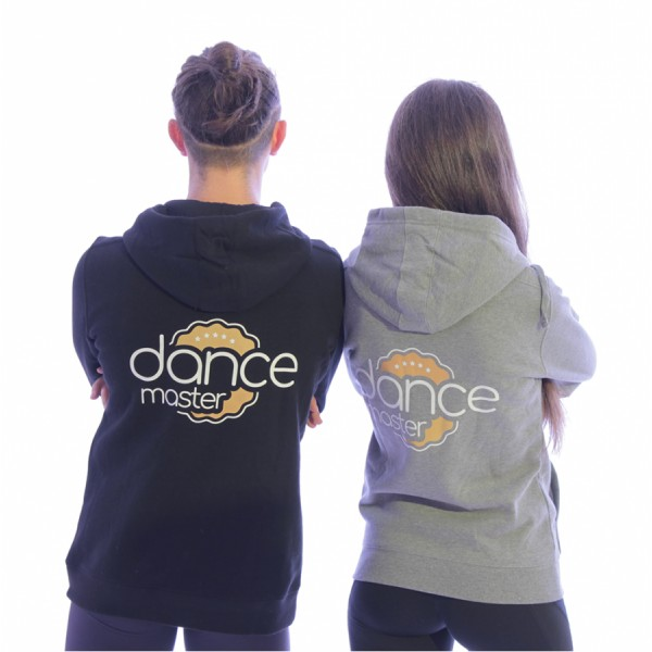 DanceMaster training hoodie, hanorac cu fermoar