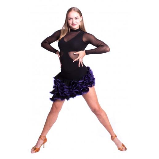 Fustă de damă pentru dansuri latino Pro